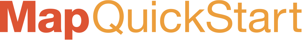Map QuickStart Main Logo Header